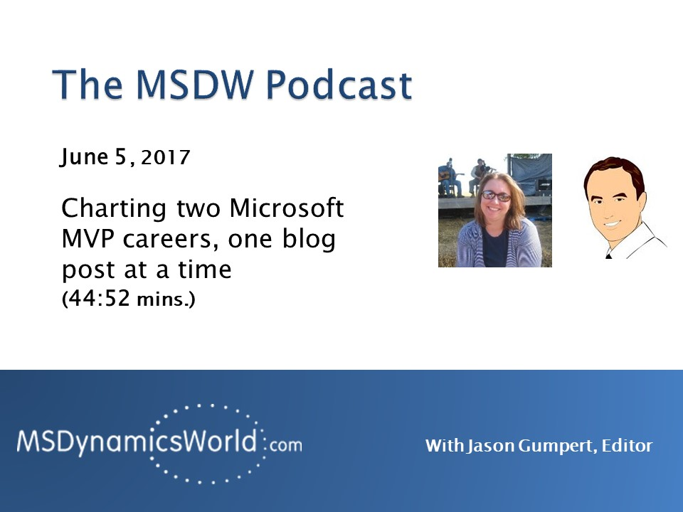 Artwork for MSDW Podcast: Charting two Microsoft MVP careers, one blog post at a time