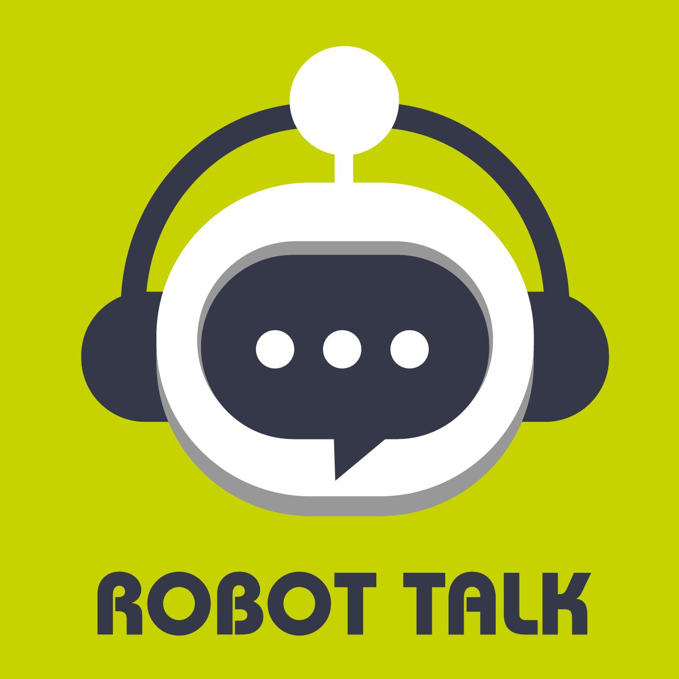 Robot Talk show art