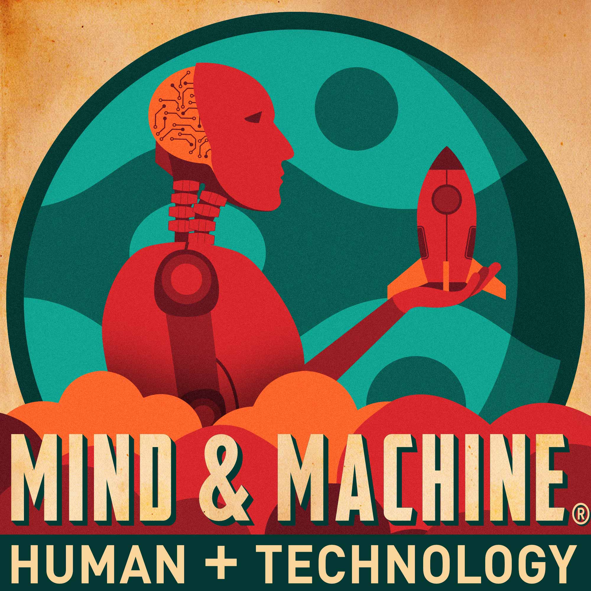 MIND & MACHINE: Science & Tech of Maximizing Human Capability show art