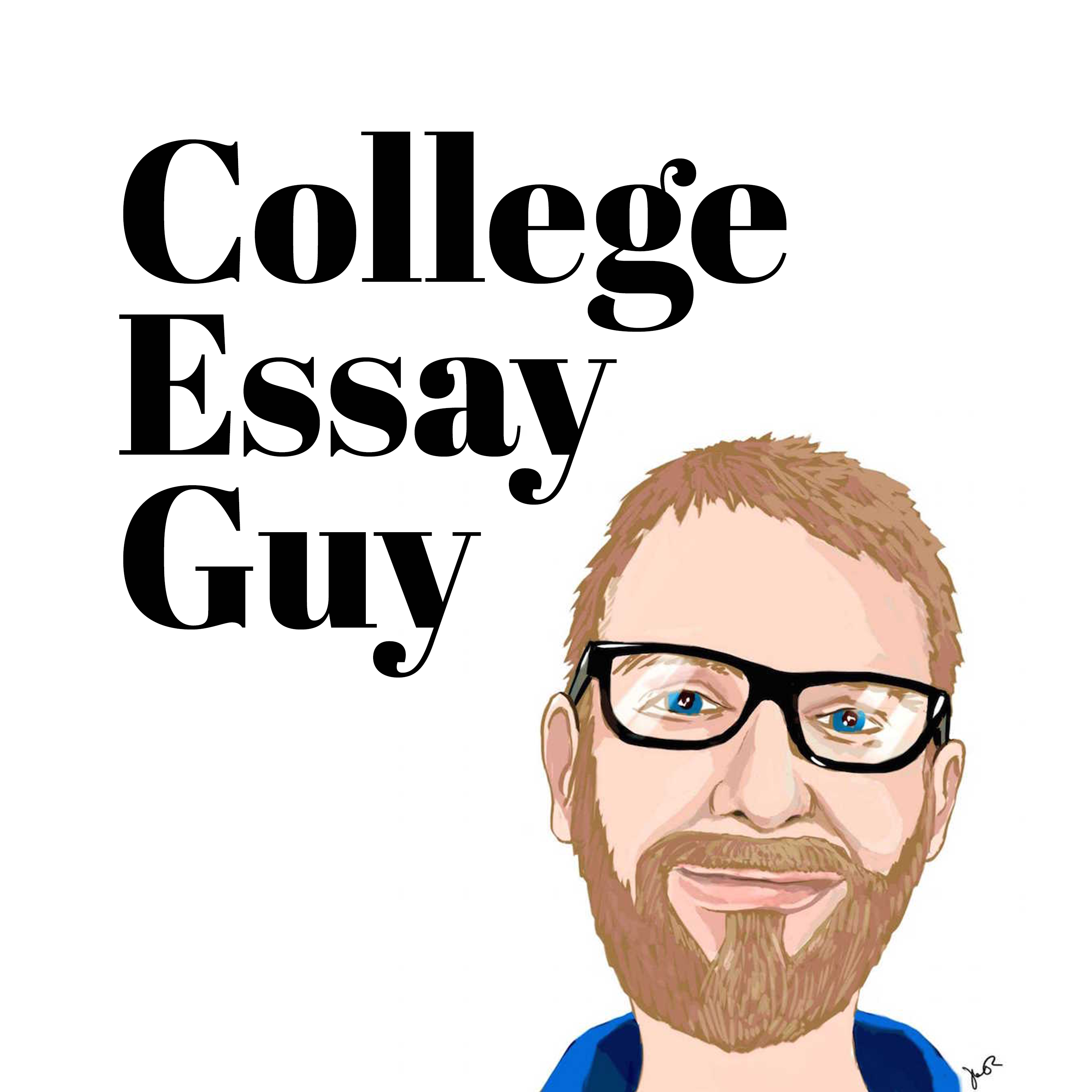 The College Essay Guy Podcast: A Practical Guide to College Admissions show art