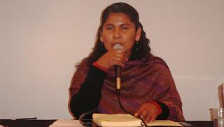 Latin American Conference - confronting Corporate Globalism  -  1. Bolivia. Alina Ganaviri Sullcani