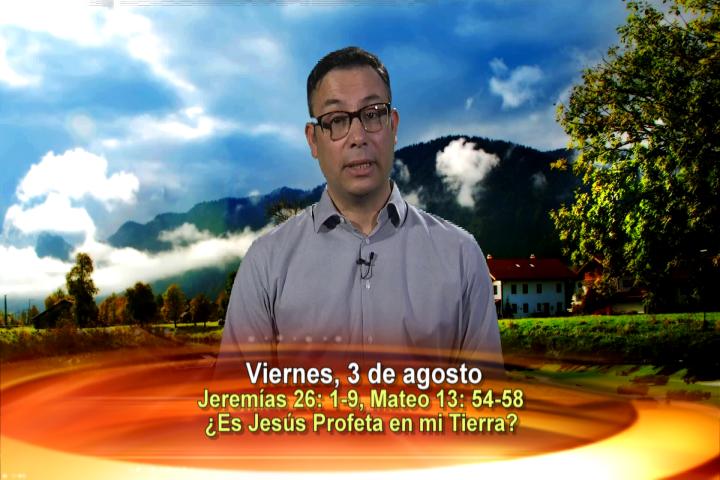 Artwork for Dios te Habla con Elder Samaniego;  Tema el hoy: ¿Es Jesús profeta en mi tierra?
