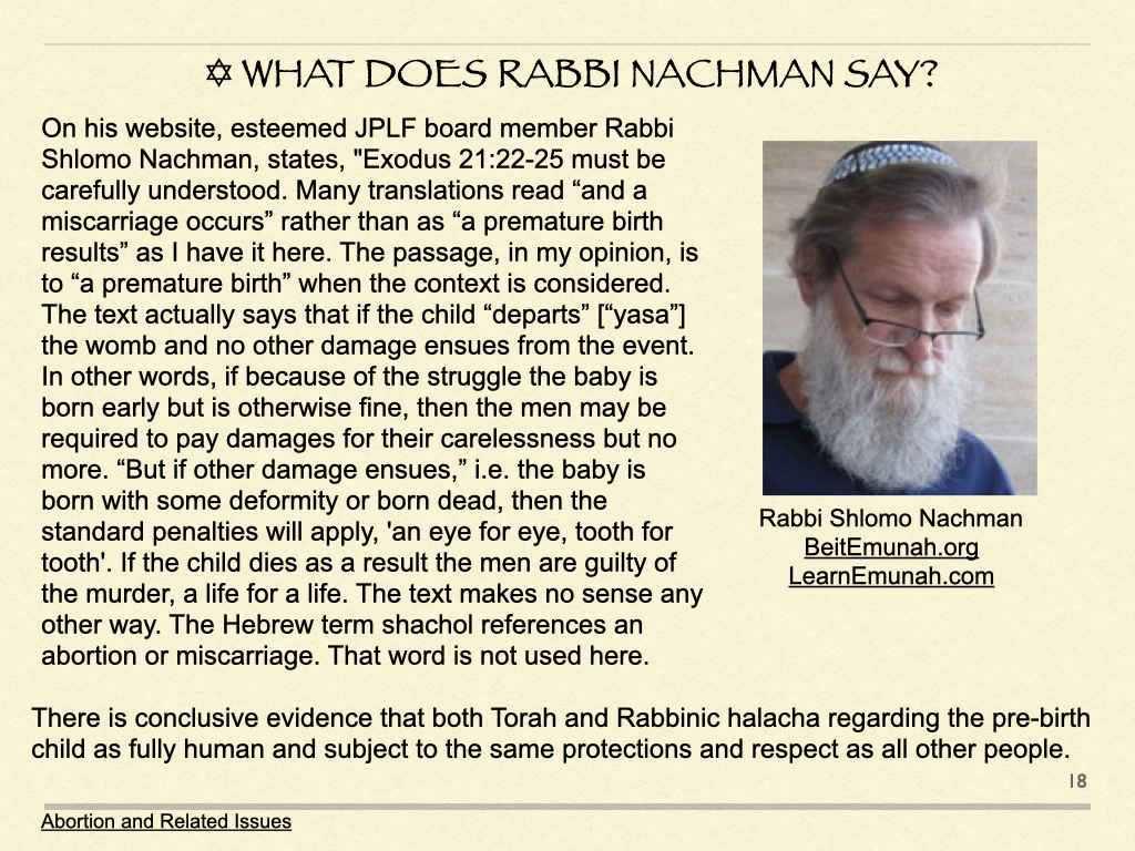 What Does Rabbi Nachman Say?