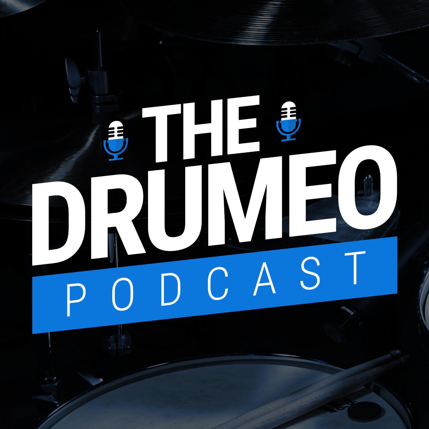 Drumeo Podcast show art