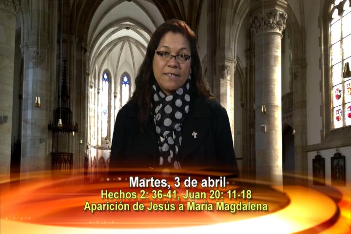Artwork for Dios te Habla con Angela Valencia; Tema el hoy: Aparición de Jesús a María Magdalena
