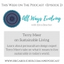 Artwork for #2: Terry Meer on Sustainable Living