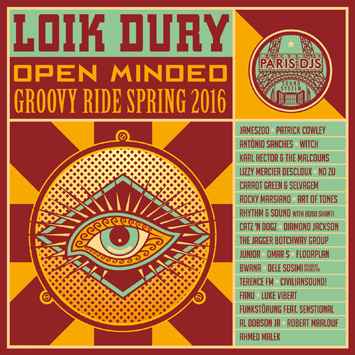 Loik Dury - Open-Minded Groovy Ride Spring 2016