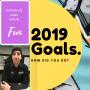 Artwork for 2019 Goals.   How did you do?