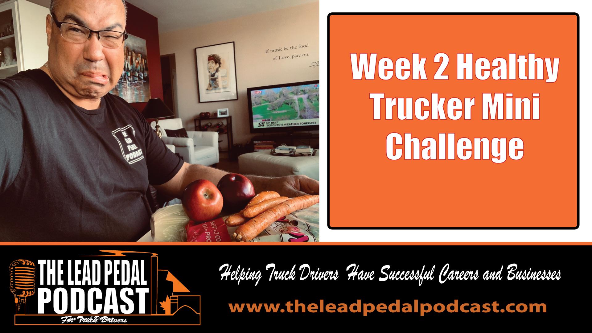 Health Challenge week 1 and 2
