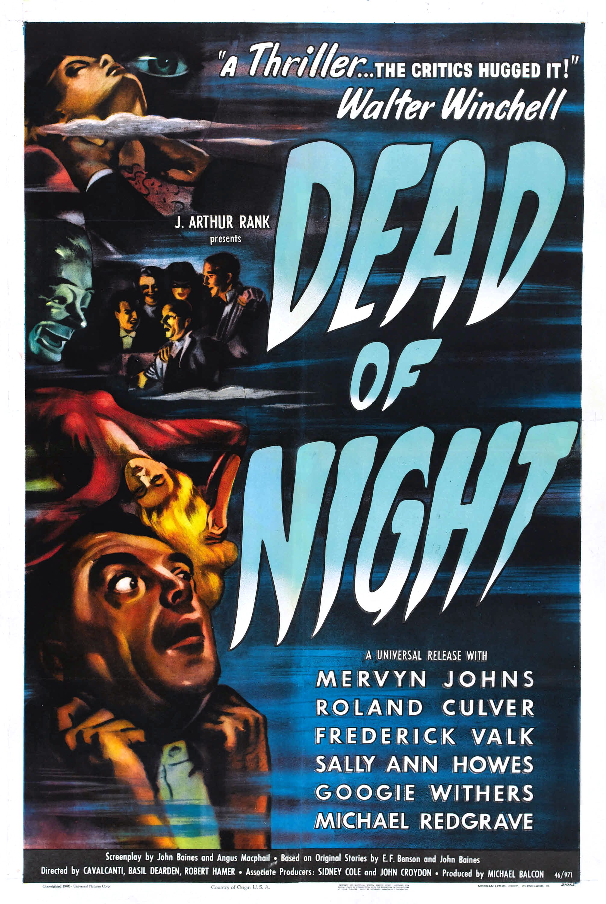 Episode 123 Tales Of Horror Vol 5 Dead Of Night 1945 With James Test Pattern A Horror Movie Podcast Lyssna Har Poddtoppen Se