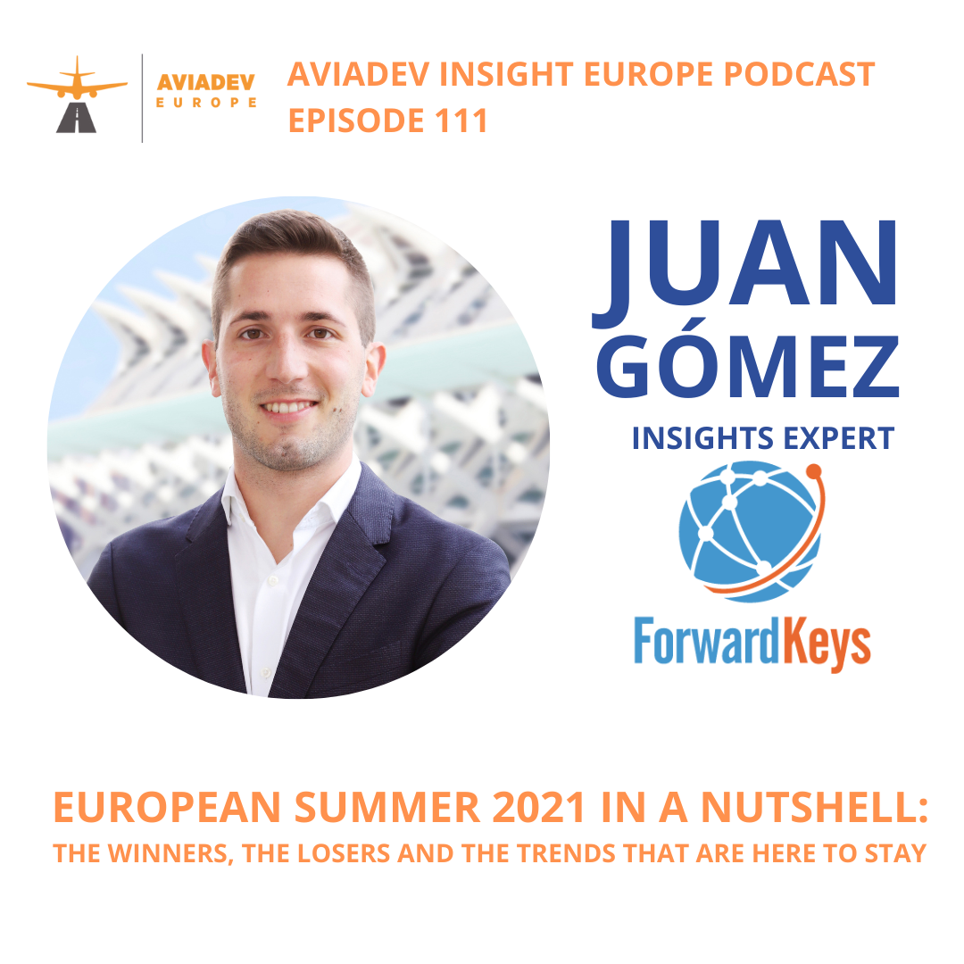 Episode 111 with Juan Gómez: European summer 2021 in a nutshell: the winners, the losers and the trends that are here to stay
