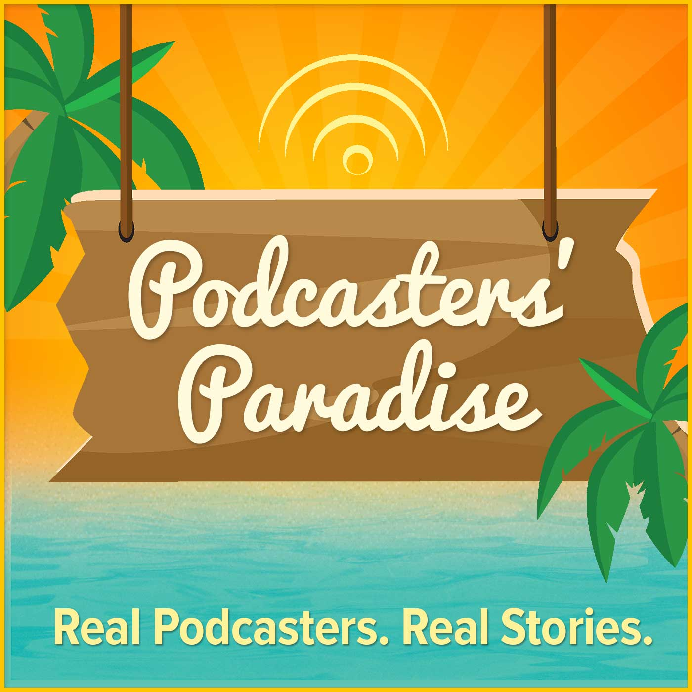 Podcasters' Paradise show art
