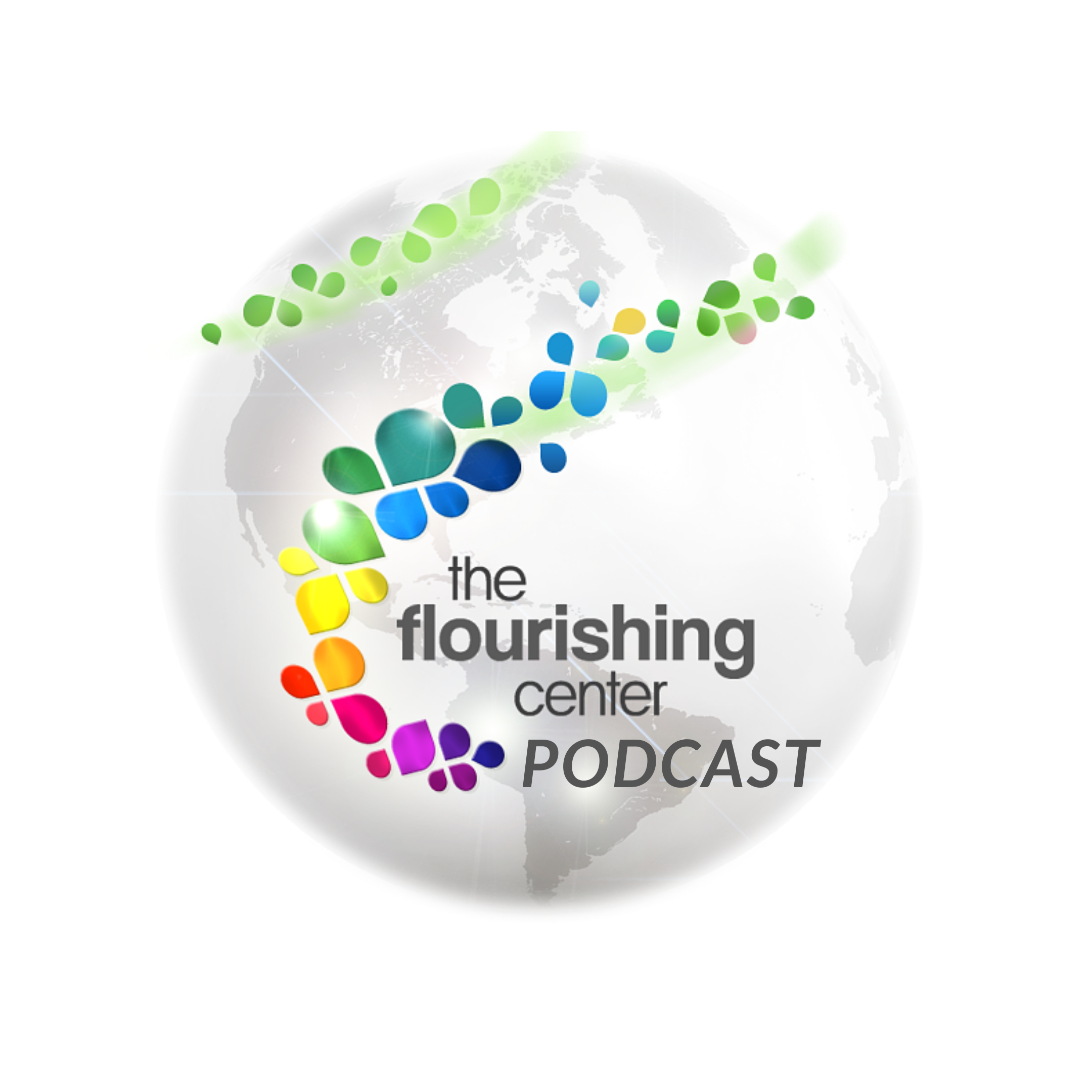 The Flourishing Center Podcast- Life Hacks, Science and How People Put Positive Psychology into Practice show art