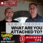 Artwork for WHAT ARE YOU ATTACHED TO? Business Tip: Focus on the journey, not the outcome.