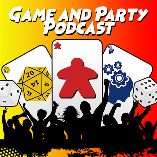 Game and Party Podcast show art