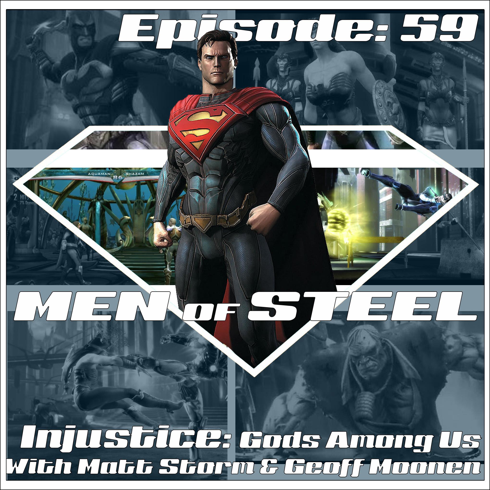 Men of Steel - PODash