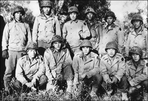 Reunion of WWII Texas Soldiers and Japanese American Combat Team
