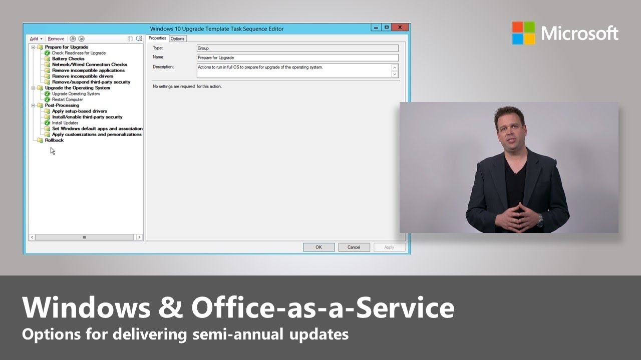 Artwork for Windows and Office-as-a-Service - Step 7 of Modern Desktop Deployment