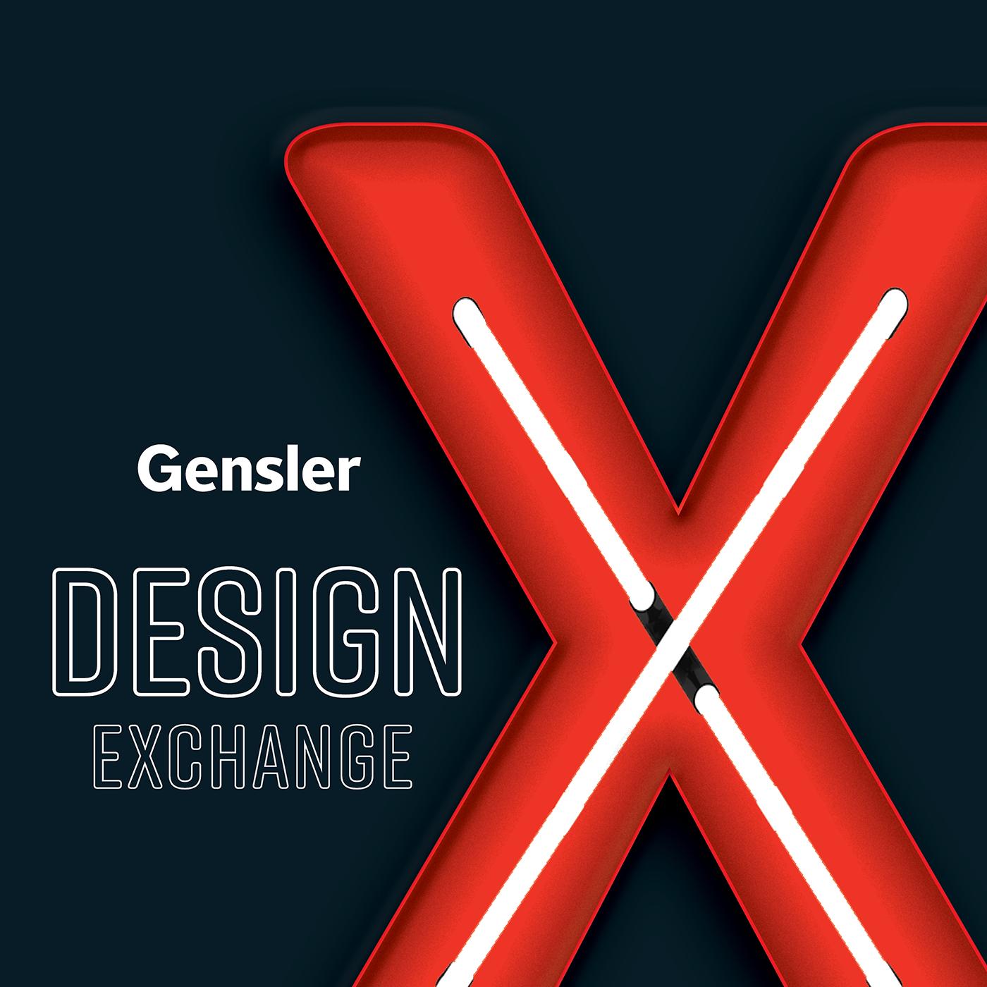 Gensler Design Exchange show art
