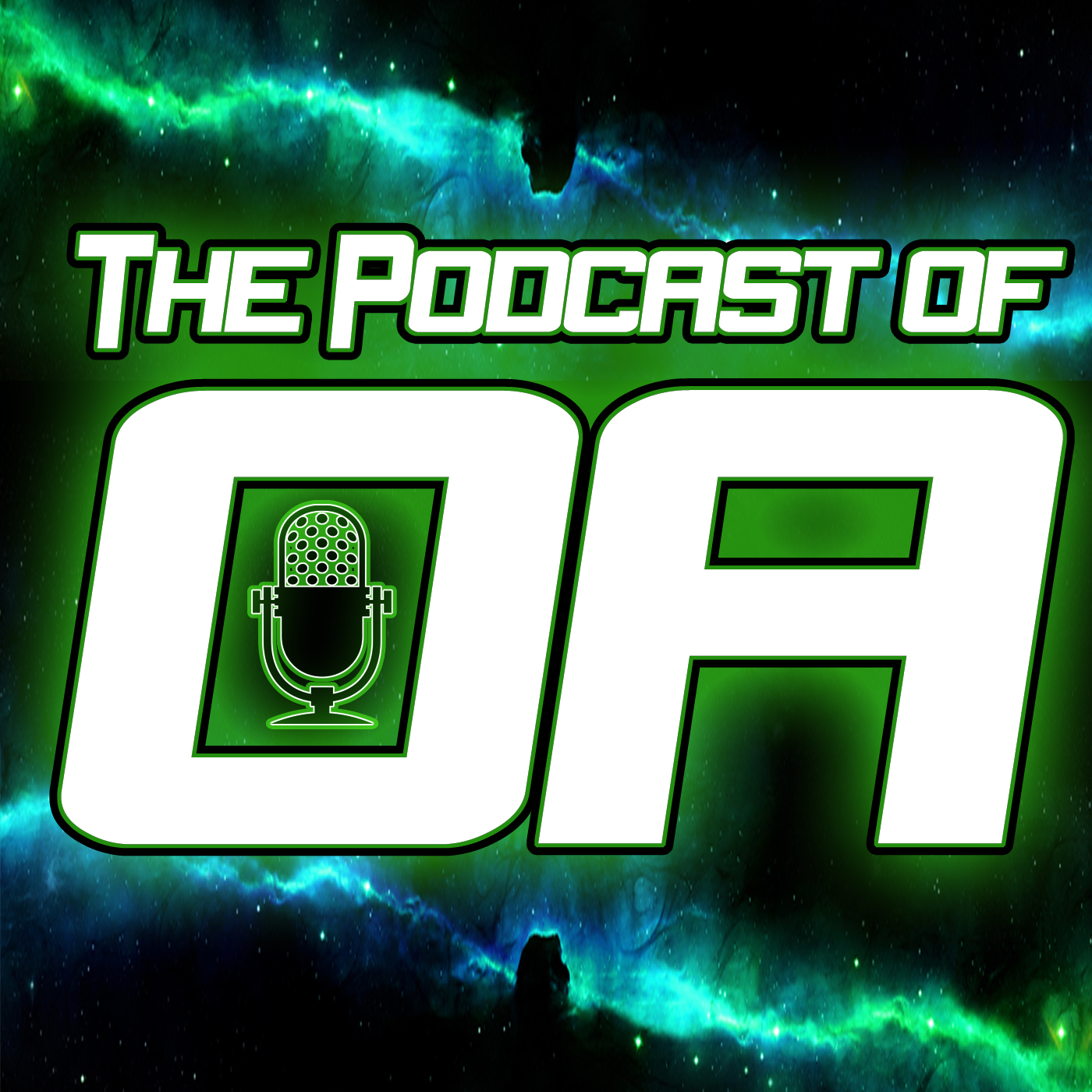 The Podcast of Oa: A Green Lantern Podcast show art