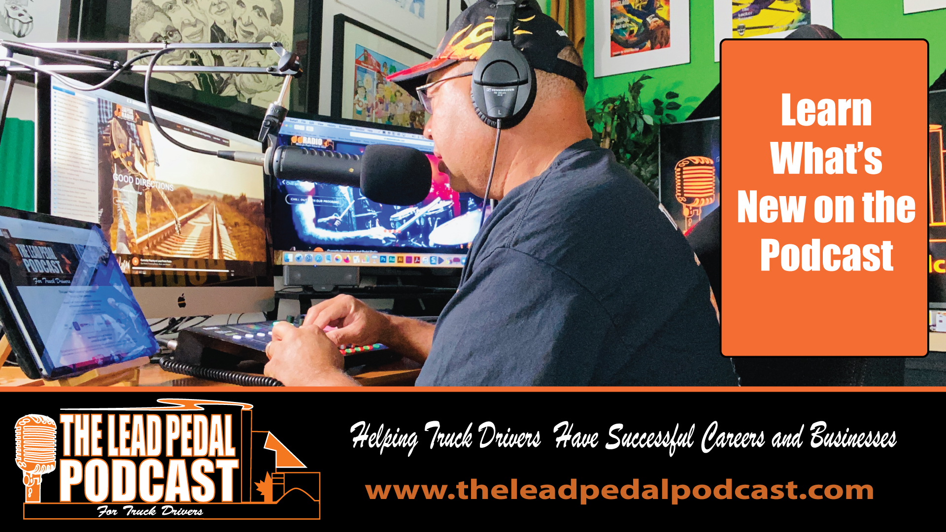 Whats New on the Lead Pedal Podcast