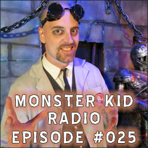 Monster Kid Radio #025 - Larry Underwood (Dr. Gangrene) and Vincent Price, Part One