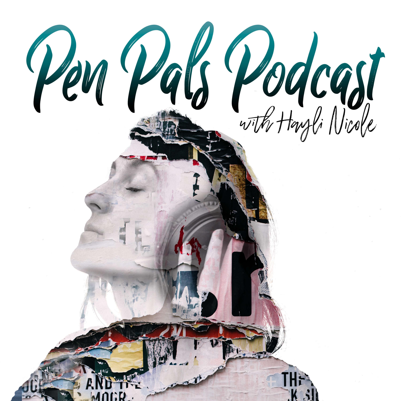 Pen Pals Podcast show art