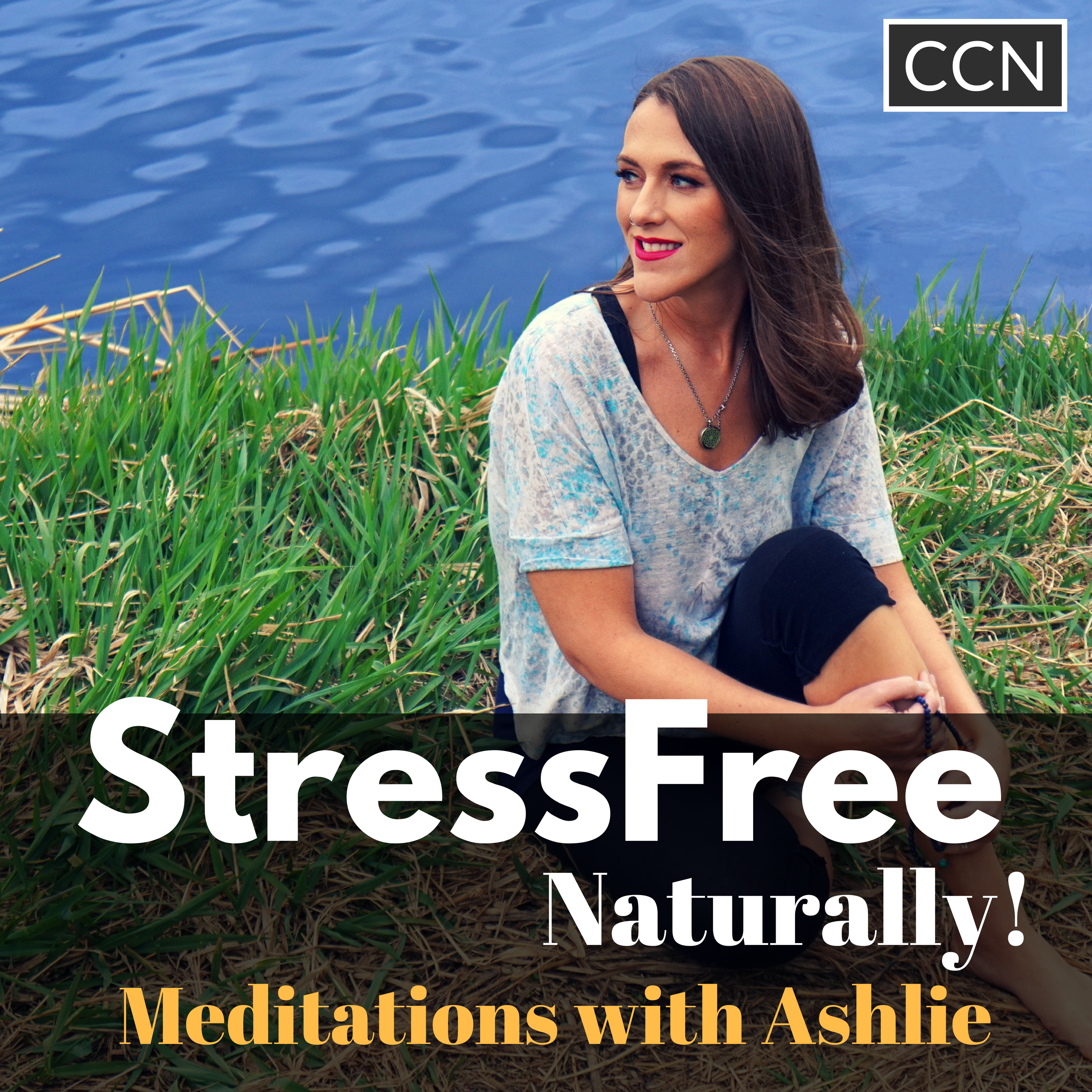 Stress Free Naturally - Meditations with Ashlie show art
