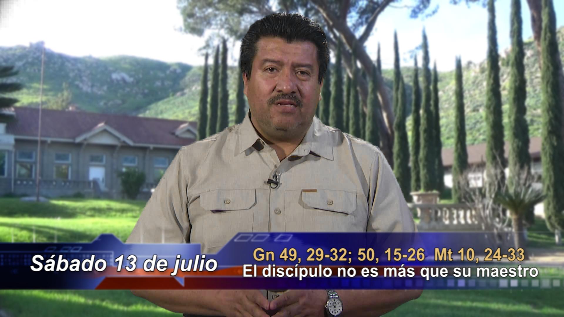 Artwork for Dios te Habla con Enrique,   El discípulo no es más que su maestro.