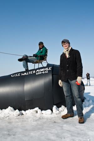 Art Shanties Projects: The USS Walter Mondale