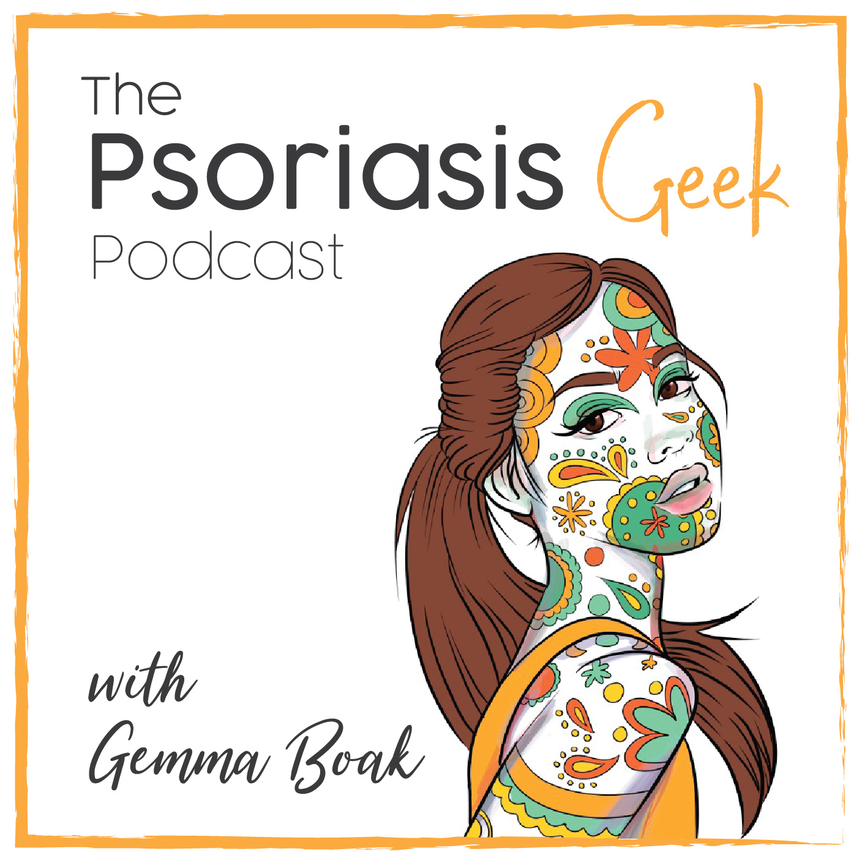 The Psoriasis Geek Podcast show art