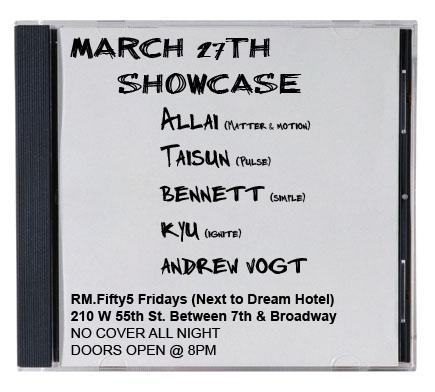DJ Allai: Live @ Room 55 3-27-09