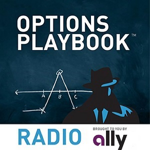 Artwork for Options Playbook Radio 166: IBM Bull Put Spread