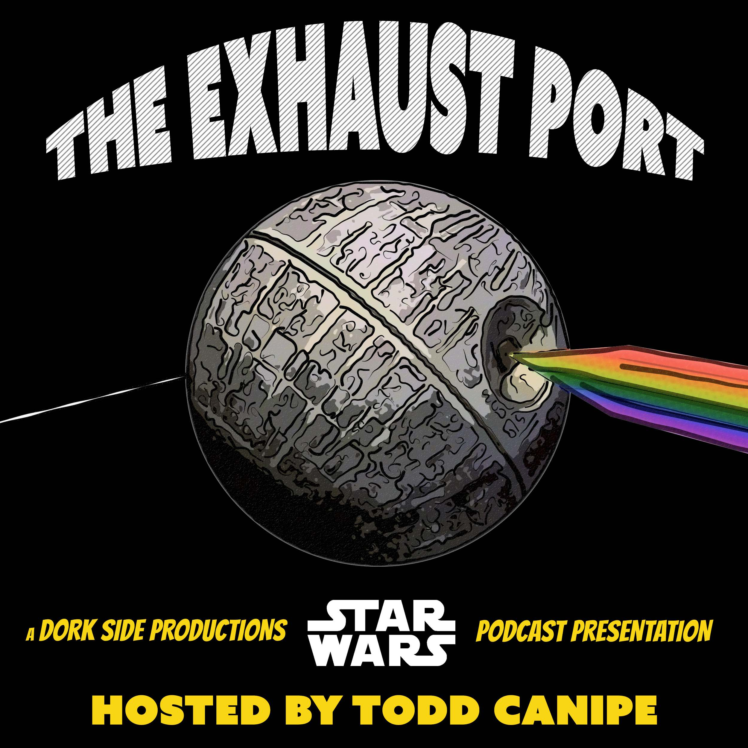The Exhaust Port - a Star Wars Podcast show art
