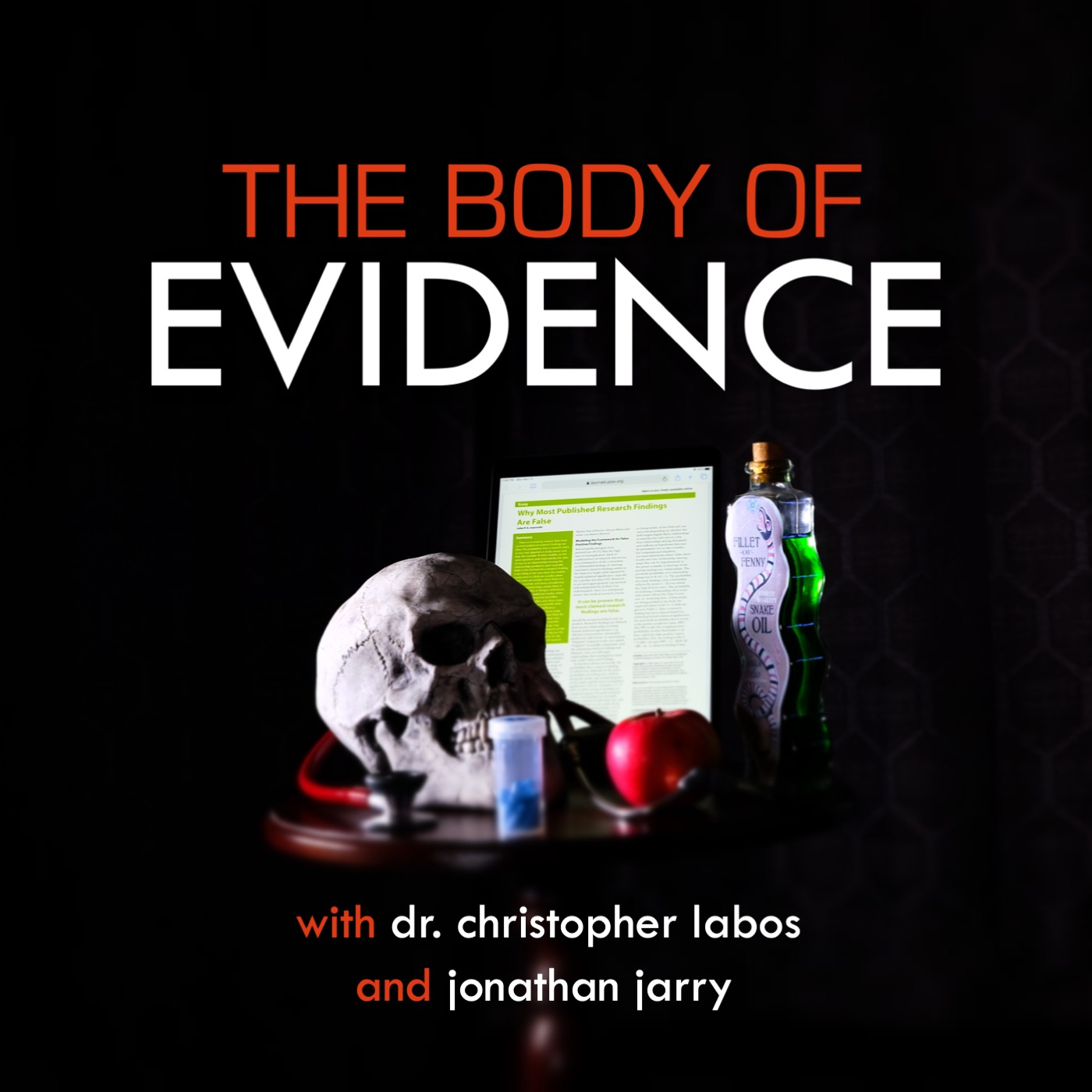 The Body of Evidence show art