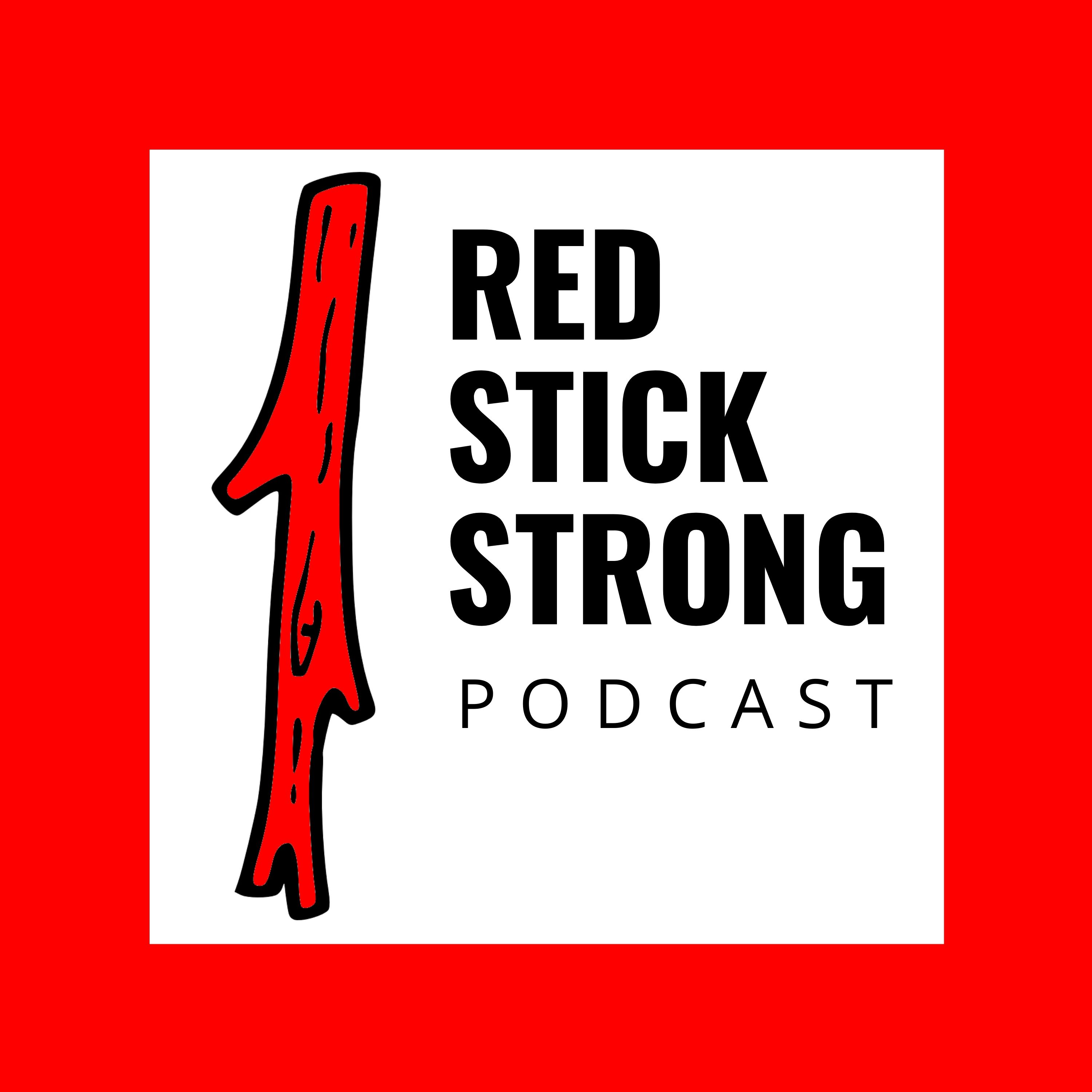 Red Stick Strong show art