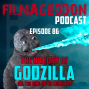 Artwork for Episode 86 - The History of Godzilla including The King of the Monsters