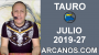 Artwork for HOROSCOPO TAURO - Semana 2019-27 Del 30 de junio al 6 de julio de 2019 - ARCANOS.COM