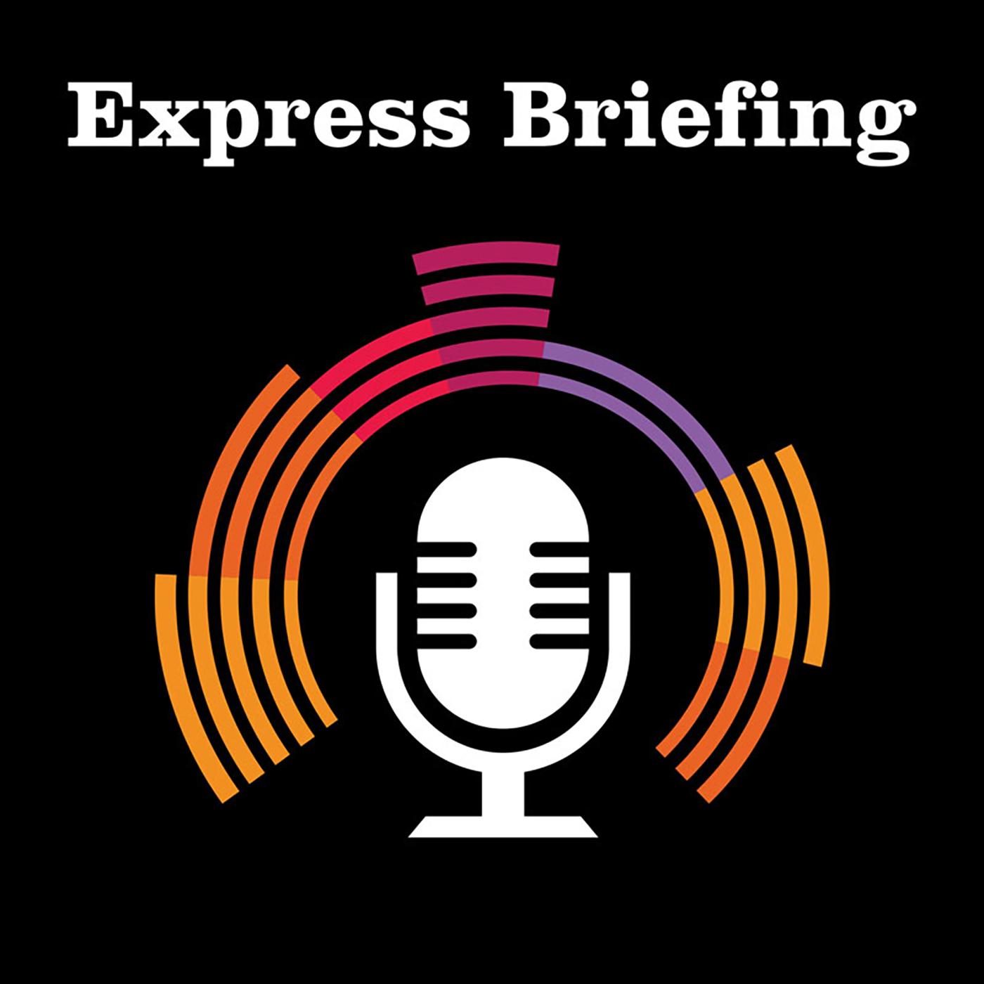Express Briefing show art