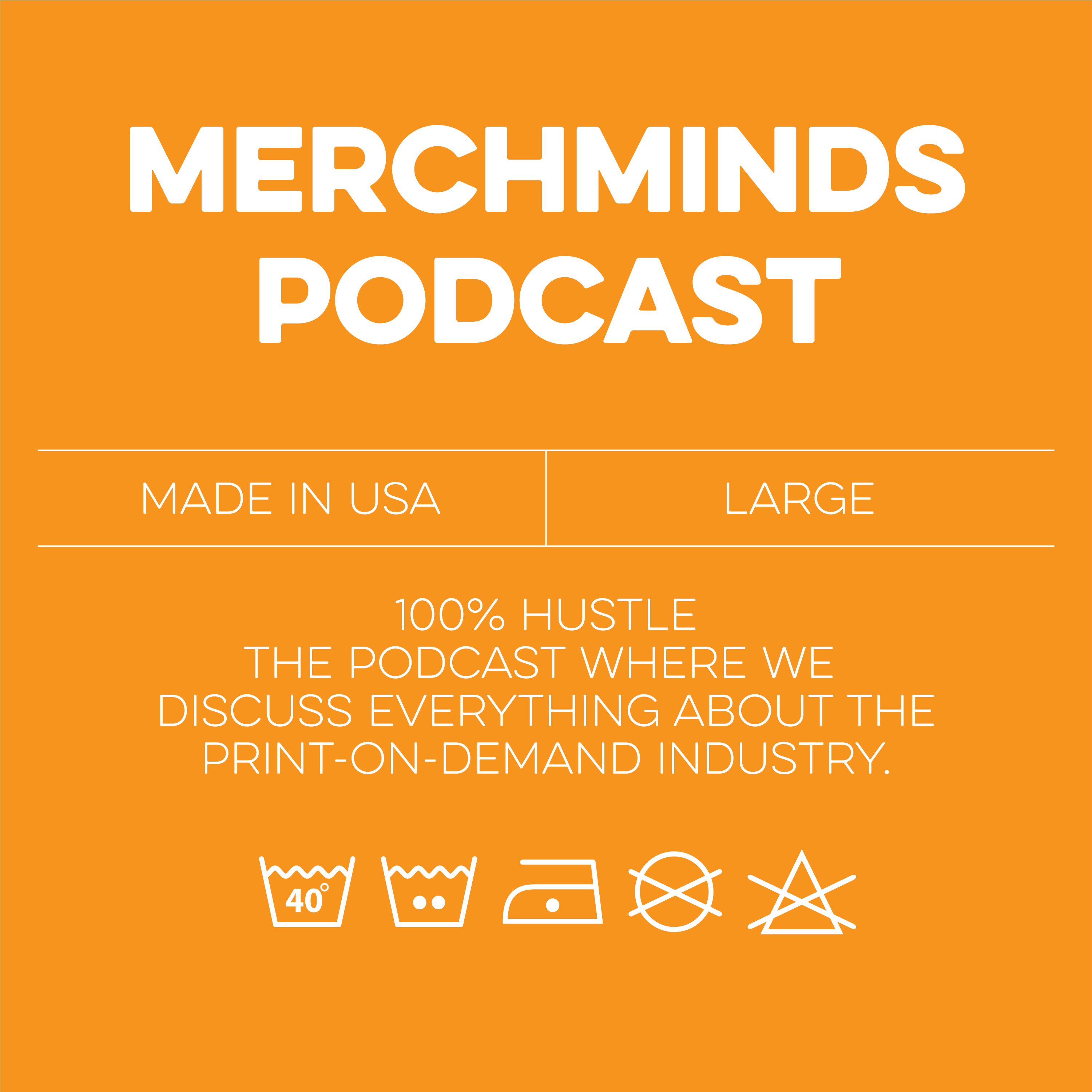 Merch Minds Podcast - Episode 160: Discussing Trademarks With Dave Cadoff show art