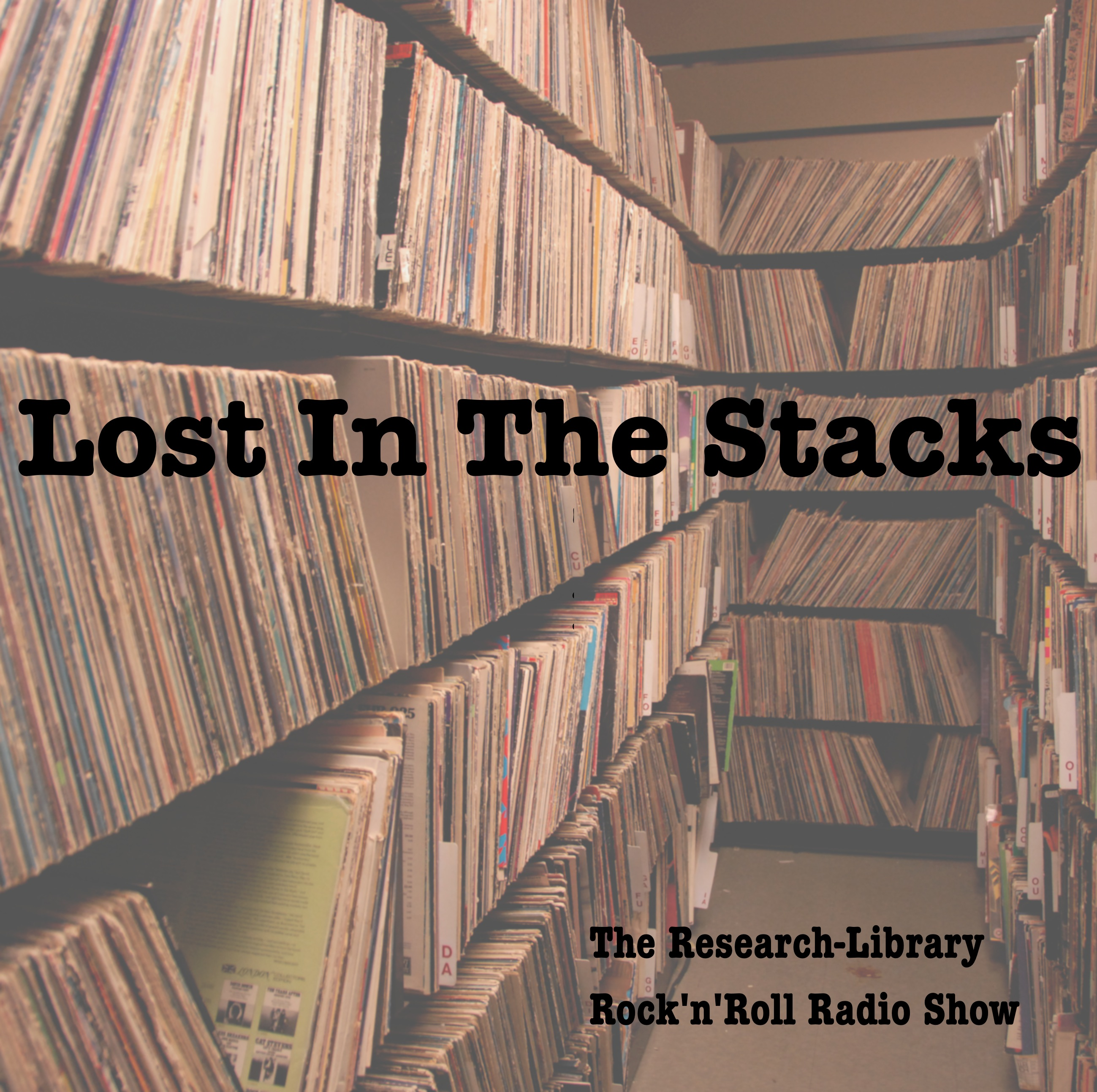 Lost in the Stacks: the Research Library Rock'n'Roll Radio Show logo