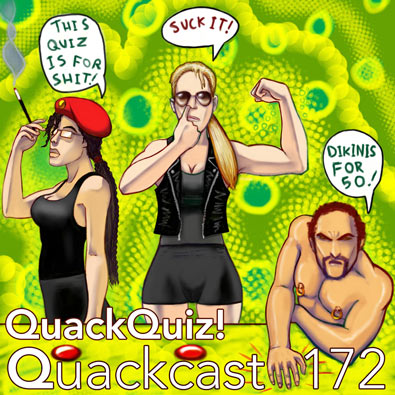 Episode 172 - The QuackQuiz!