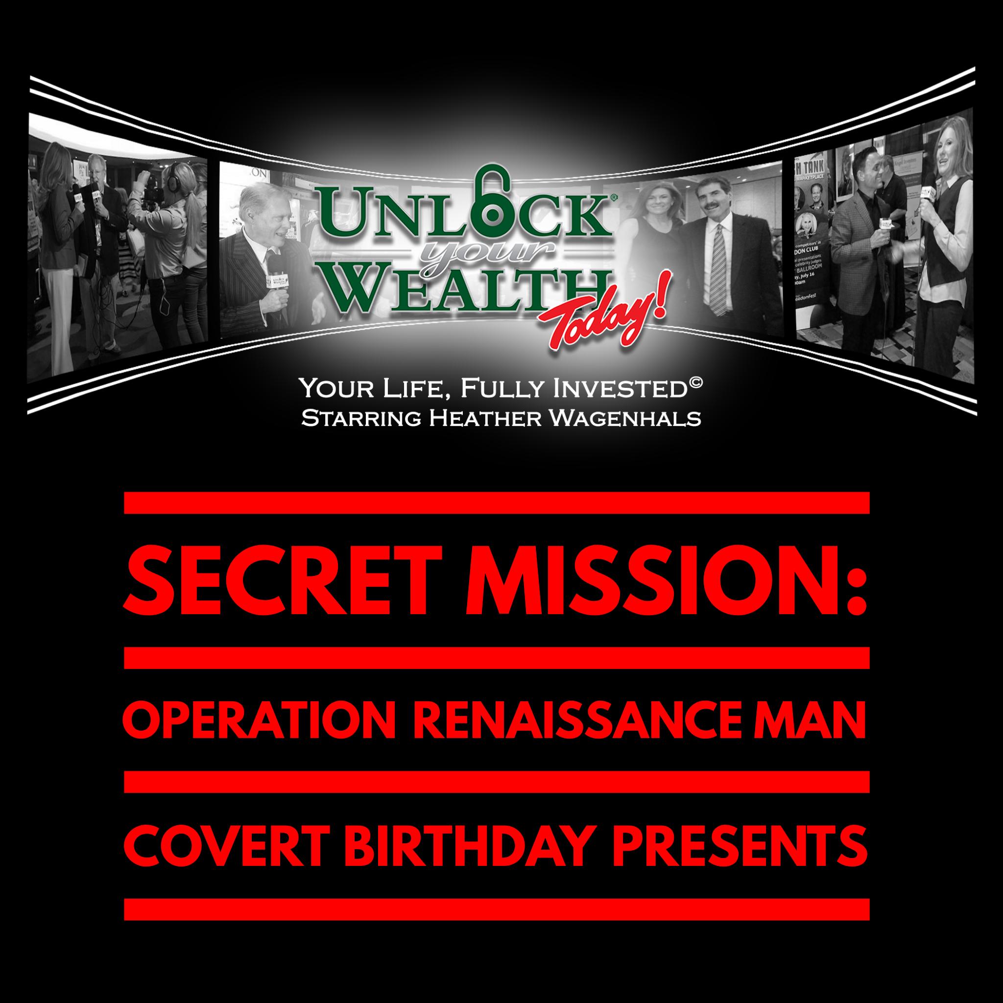 Artwork for Secret Missions, Renaissance Men, and Birthday Giveaways