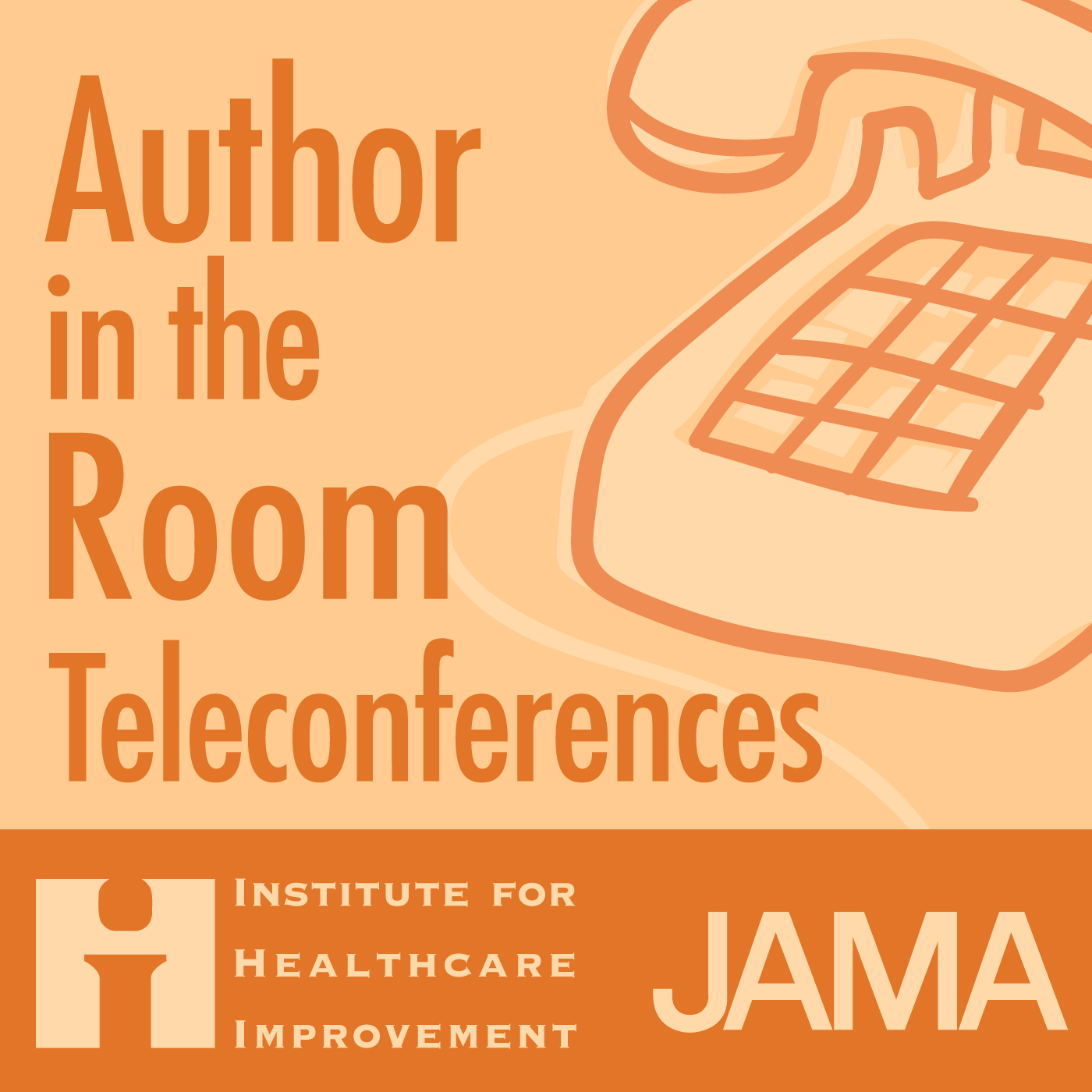 JAMA: 2010-10-20, Vol. 304, No. 15, Author in the Room Audio Interview