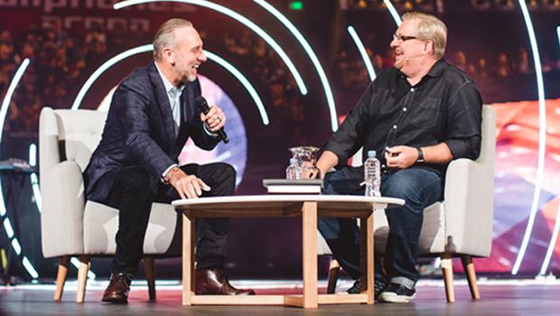 Artwork for Leadership Vault | Brian Houston & Rick Warren Interview Part 2