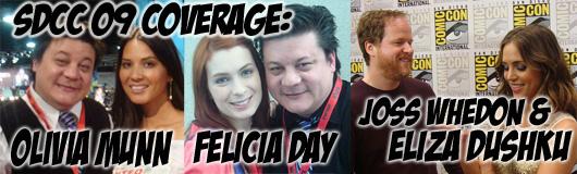 Episode 210 - SDCC Recap Madness with Felicia Day, Olivia Munn, Joss Whedon and Eliza Dushku