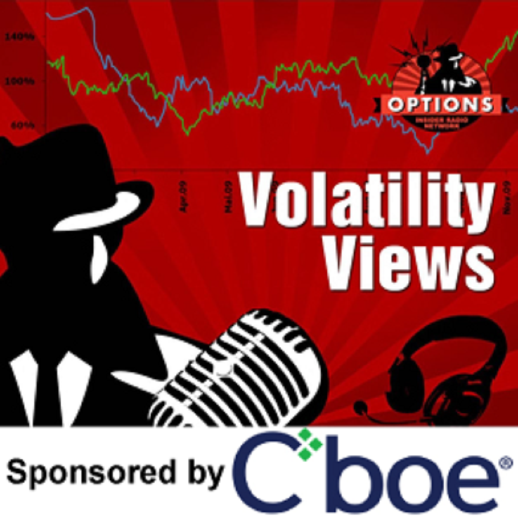 Artwork for Volatility Views 284: Is Bitcoin Going to the Moon...or Higher?