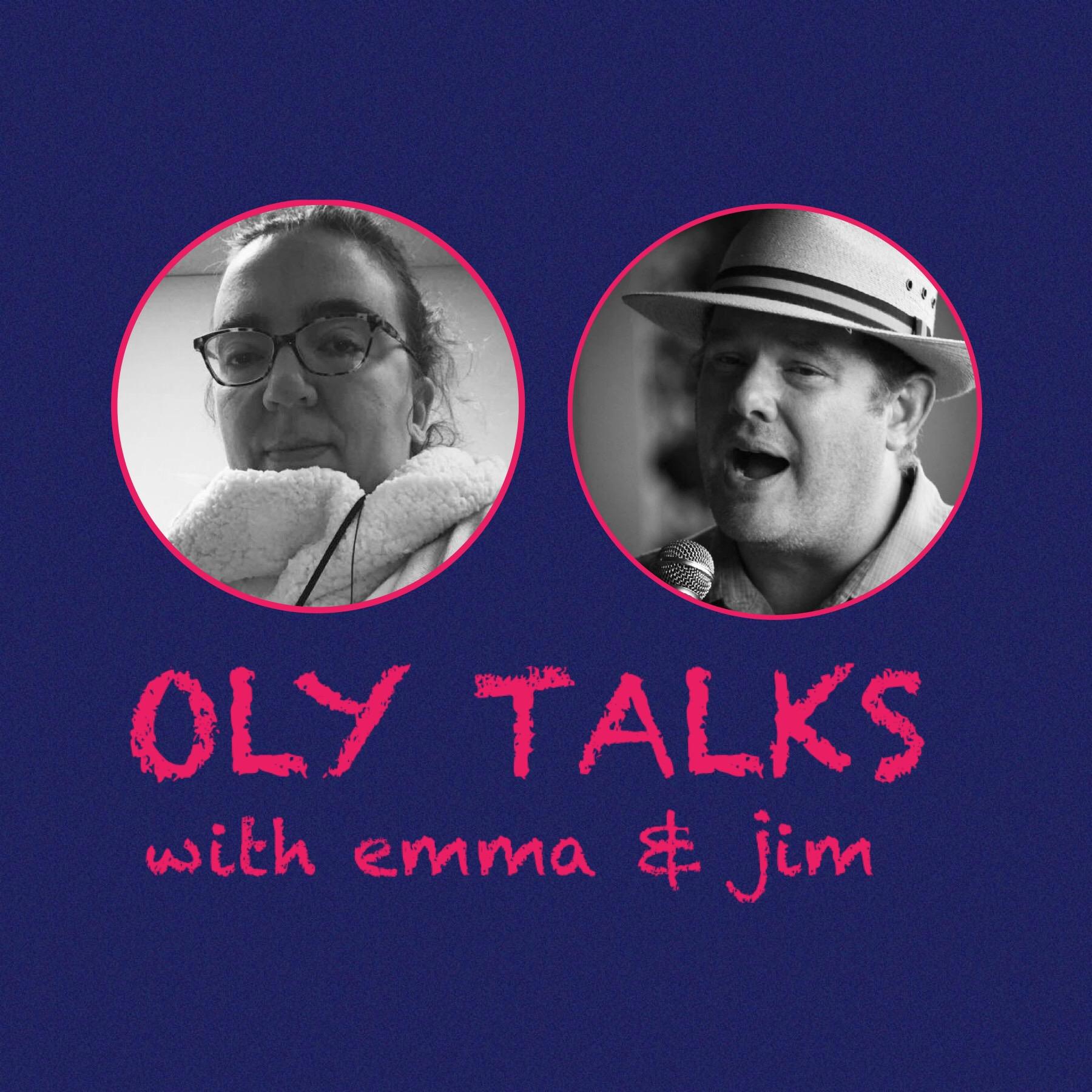 Oly Talks show art