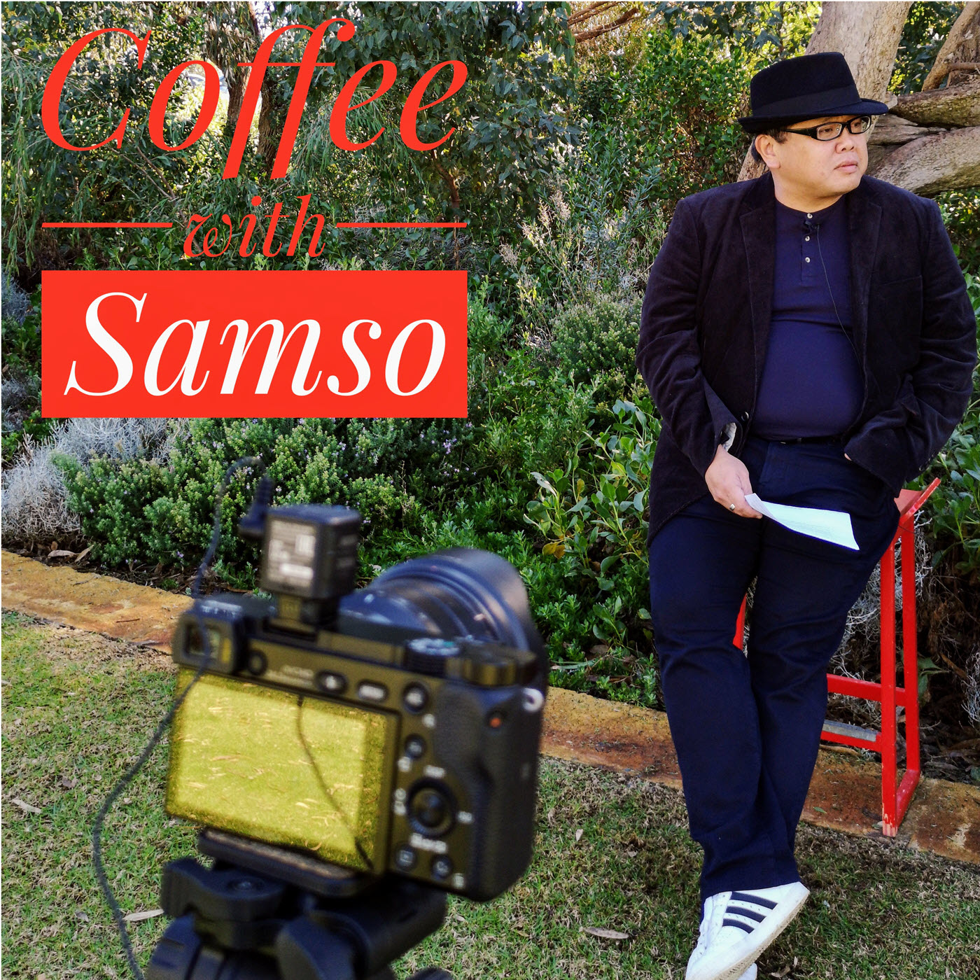 Coffee with Samso show art