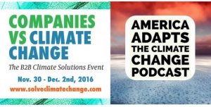 Companies vs Climate Change Conference:  America Adapts on location in Fort Lauderdale talking mitigation, adaptation and sustainability!